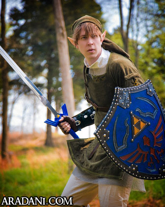 Twilight Princess Link costume from Legend of Zelda