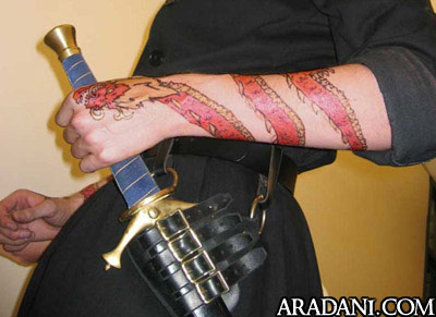 Rand al 39 thor from the wheel of time book series for Wheel of time tattoos
