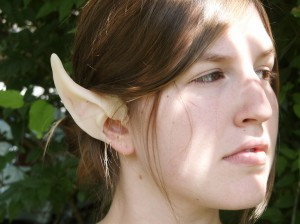 Our new high elf silicone ear.