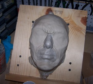 Myrddraal eyeless silicone mask 2010