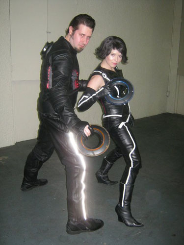 Finding the fabric turned out to be pure luck. I went to one of my local fabric stores here in Nashville TN called Textile fabrics.  sc 1 st  Aradani Costumes & My Quorra Costume from Tron Legacy -