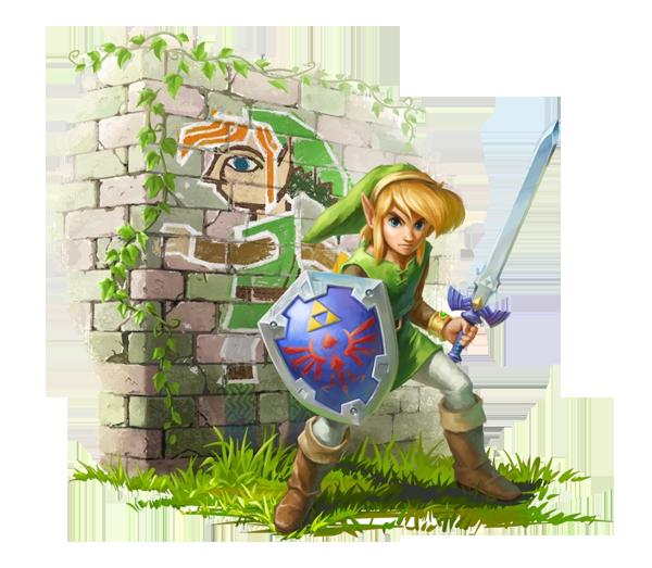 Legend of Zelda - A Link Between Worlds -
