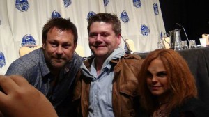 Chip and Marisa with Grant Bowler