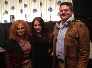 Chip and Marisa with Stephanie Leonidas