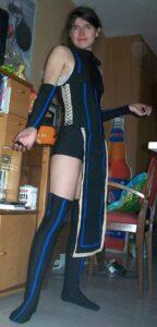 salome under costume