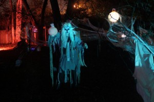 Laura the deadite fairy made sure all; the lanterns stayed lit.