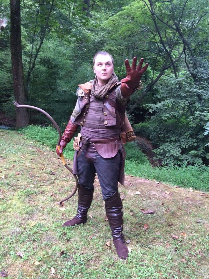 Inquisitor Costume Tutorial & Inquisitor Trevelyan (Dragon Age 3