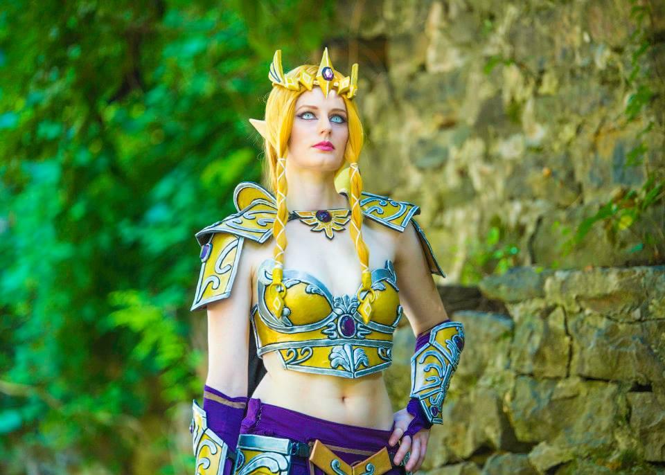 Battle Queen Zelda
