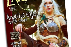 Larp Magazine with a review of our elf ears!