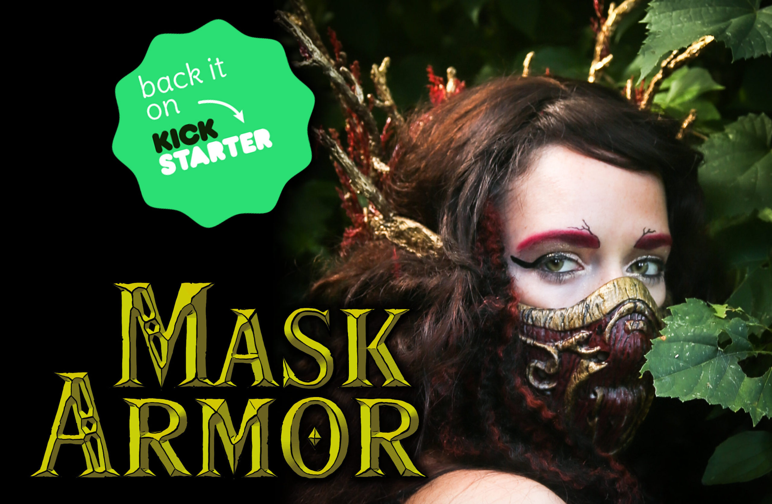 Wood Elf Mask Armor