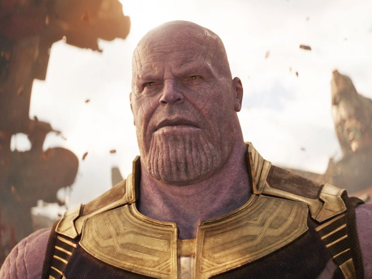 Thanos got the thick chin.